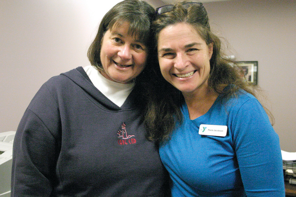 "NEW DIRECTOR: With nearly 20 years with the YMCA, the Kent County branch welcomes Paula Jacobson (right) as the new executive director. Y Senior Program Director Sue Shanley said Jacobson is ""a woman who understands people, where they're at, and what role she plays as a vehicle to help them, direct them and encourage them."""