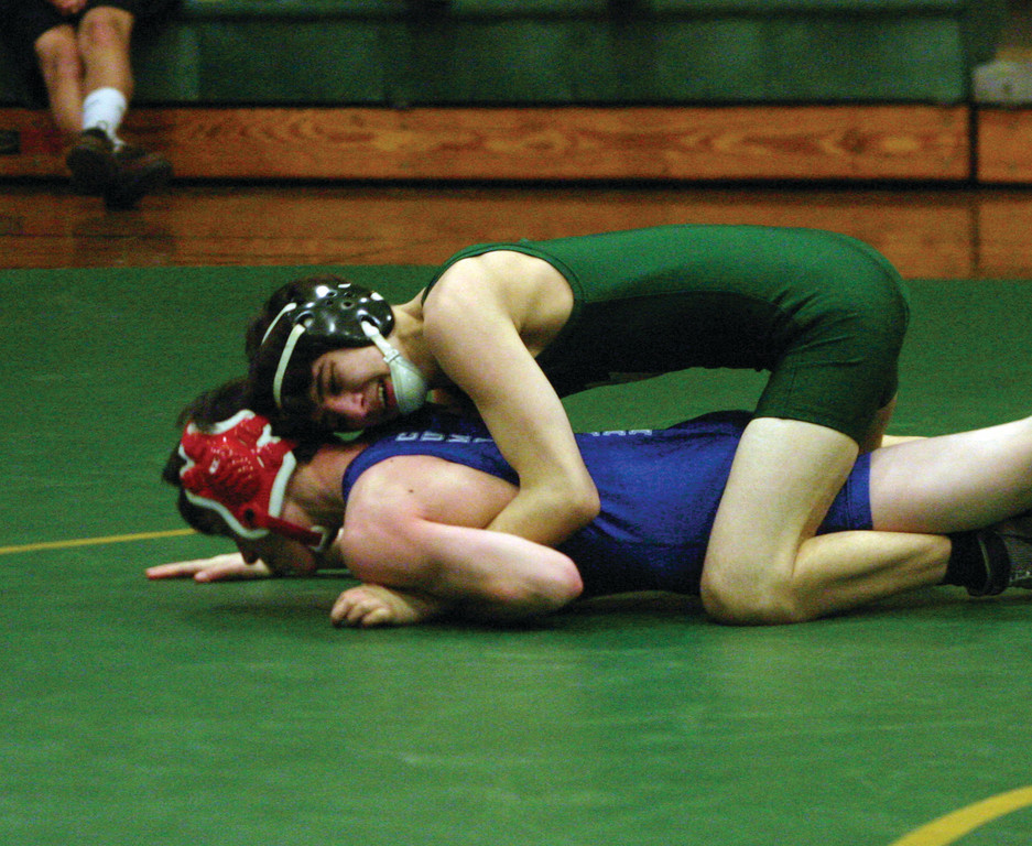 CONTENDER: Jason Davol and the Hendricken wrestling team are set for the state tournament, where they're the favorite.
