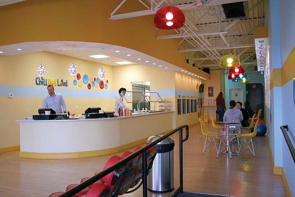 SPACE TO PLAY: With a spacious and colorful location, Chill Out Loud can accommodate crowds and provides a great environment for birthday parties.
