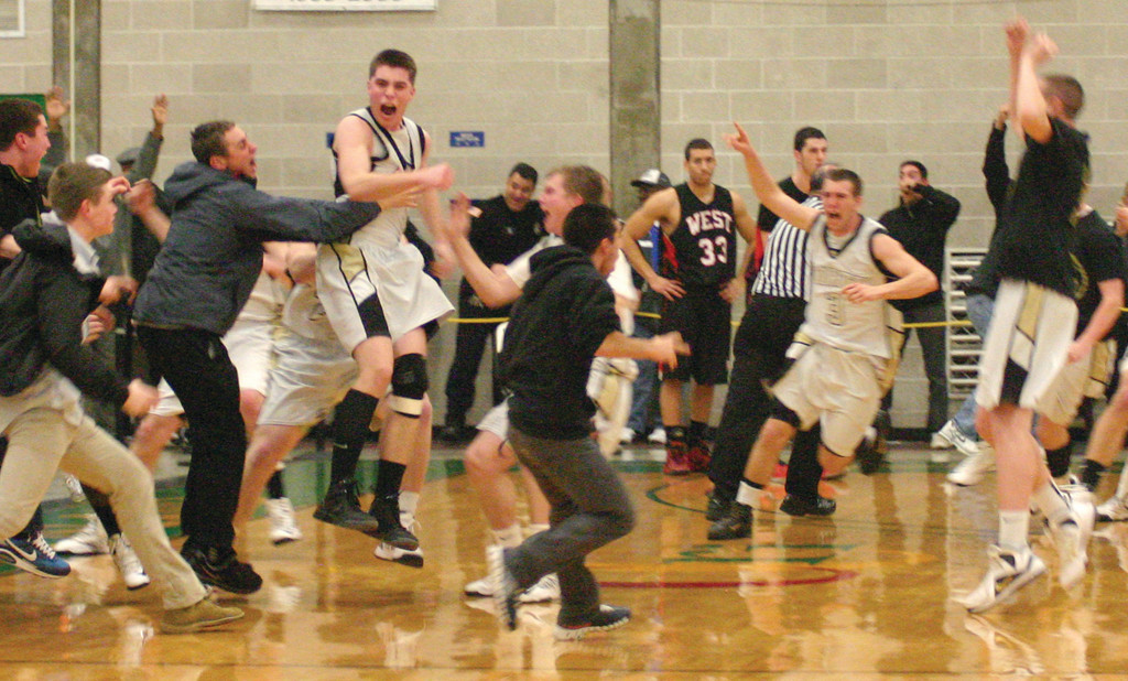 MADNESS: Thursday's wild finish led to jubilation for North Kingstown...