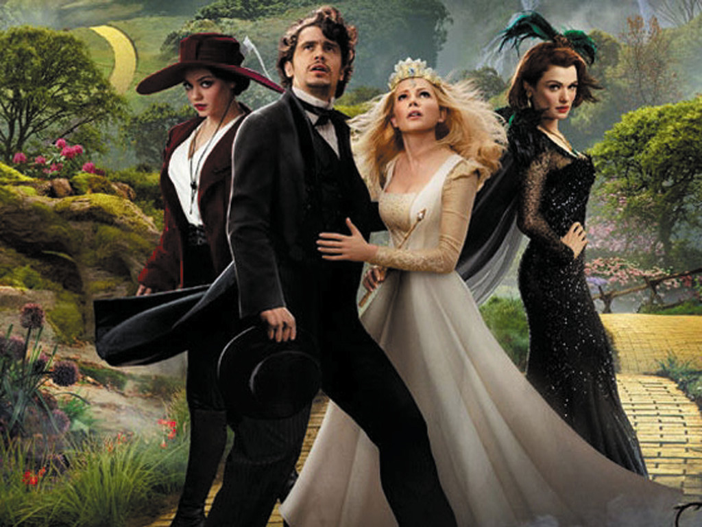 """Oz the Great and Powerful"" is now playing at Showcase Cinemas."