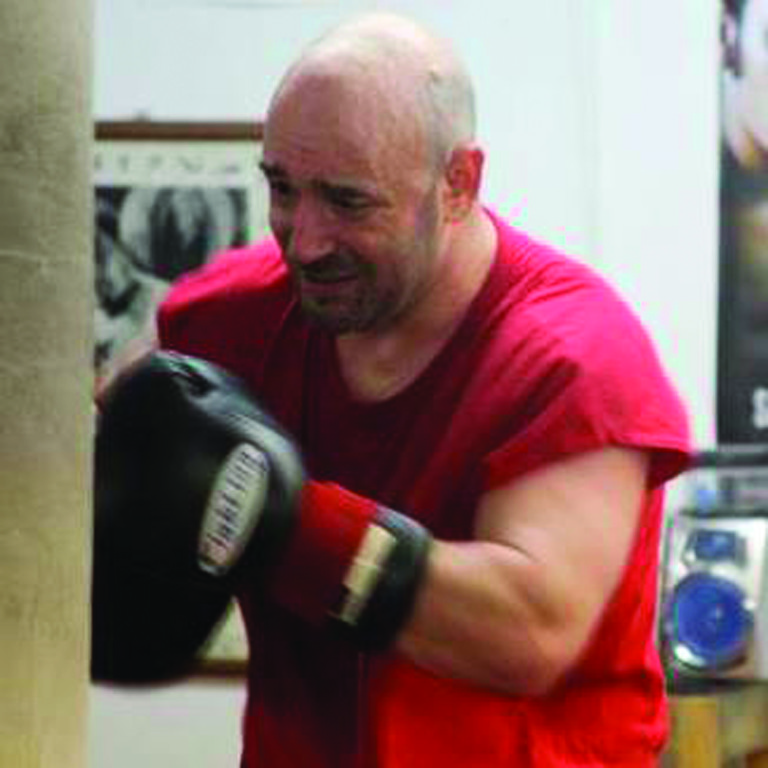 FIGHT TIME: Warwick's Benny Costantino trains for his upcoming fight against Emmanuel Medina.