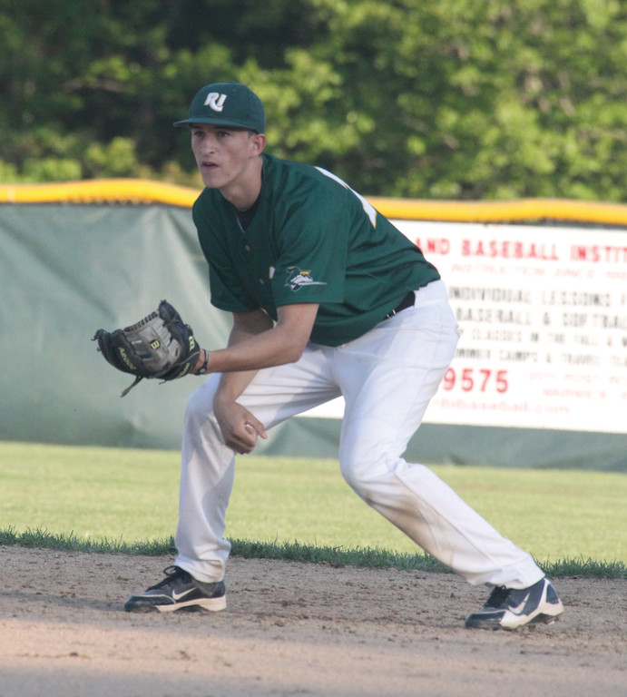READY TO GO: Nick Coro is back to play second base this season for the Knights.