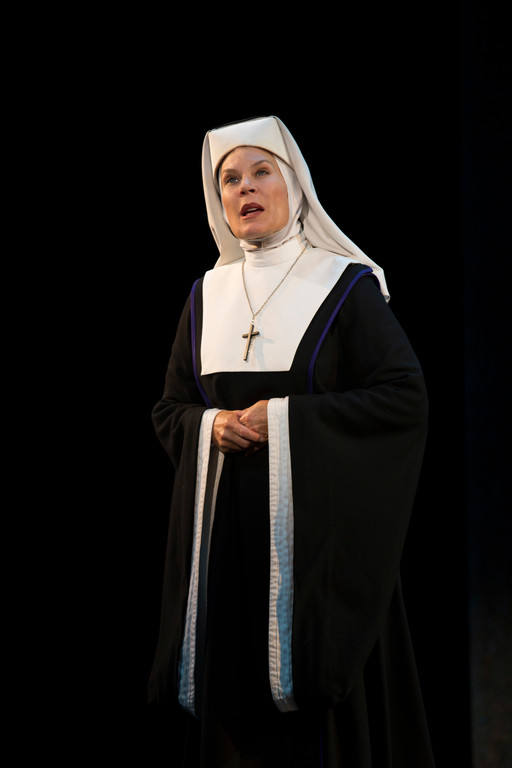 Hollis Resnick as Mother Superior in �Sister Act.�