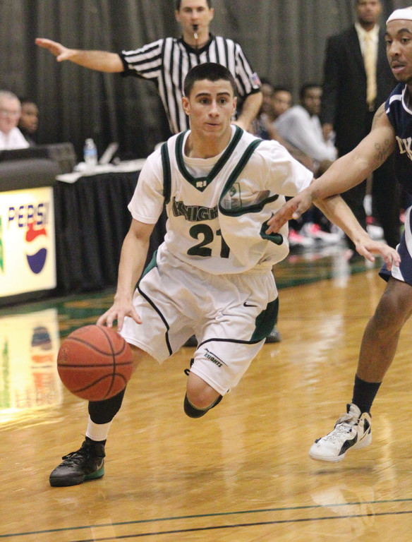 HONORED: Cranston West product Bryan Yarce was one of two CCRI men's basketball players to earn All-Region XXI honors.