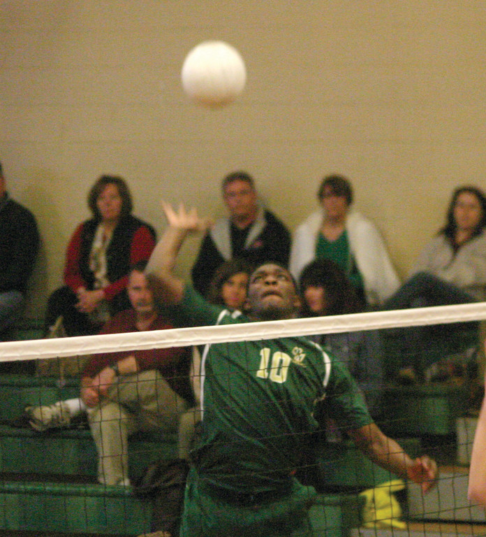 UP AND OVER: Jahari Ford led the way as Hendricken charged past La Salle 3-0 in Friday's season opener.