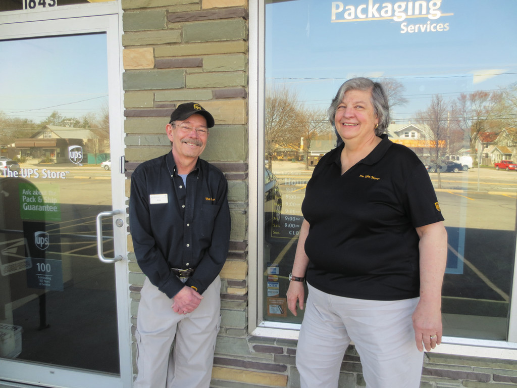 Ken and Owner Eileen welcome you to Warwick's very own The UPS Store, and extend their thanks for your continued support of this local business.