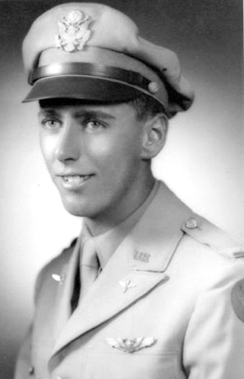 2nd Lt. Robert Thorpe stuffed himself with food to make the minimum weight for the Army Air Corps pilot training program in World War II. He made the weight and was flying a P-47 Thunderbolt fighter on a strafing run of a Japanese garrison in New Guinea when his plane went down. He was captured and executed by the Japanese, who unsuccessfully tried to pretend he died of malaria at a war crimes trial.