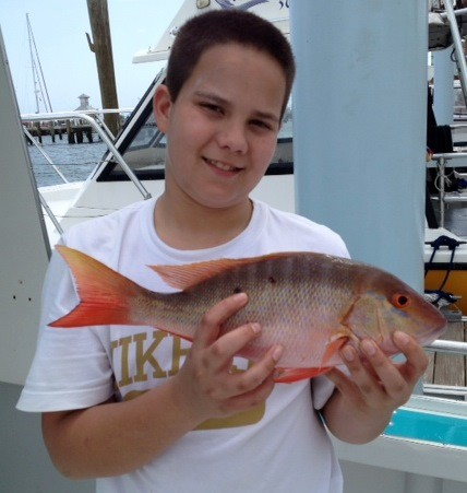 Spring (fishing?) break: School vacation turned out to be a fishing holiday for Carlin O'Hara of Cranston. The Rhode Island angler landed red and yellowtail snapper off Riviera Beach (near West Palm Beach) in Florida while on vacation with his family.