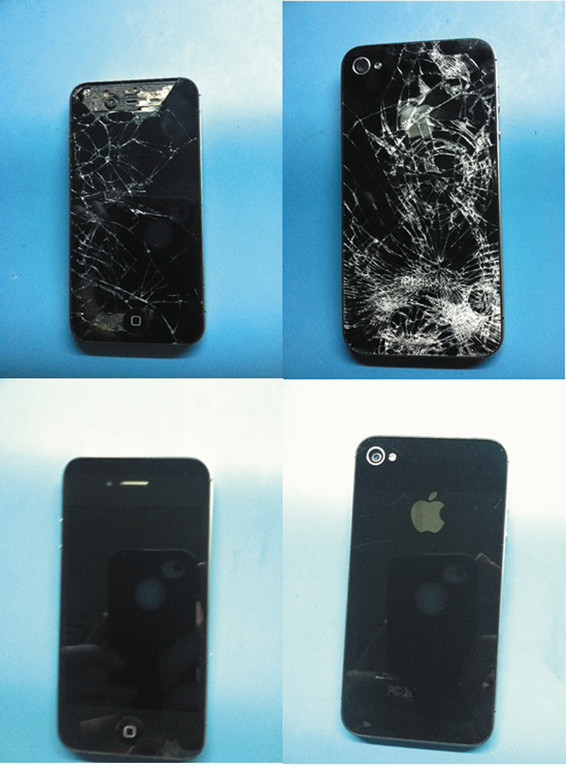 Check out Matt Burrough's iPhone® before and after he brought it to Tech 911, Inc., your One Stop Tech Shop in Warwick.