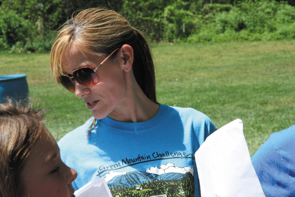 "COORDINATOR: Linda Pixinho coordinated the walk-a-thon as she has done since it was started as a PTA fundraiser. This year she said it was an easy decision to give the money to the McLaughlin family. Bob McLaughlin, who died suddenly this April, ""was always in the school helping,"" said Pixinho."