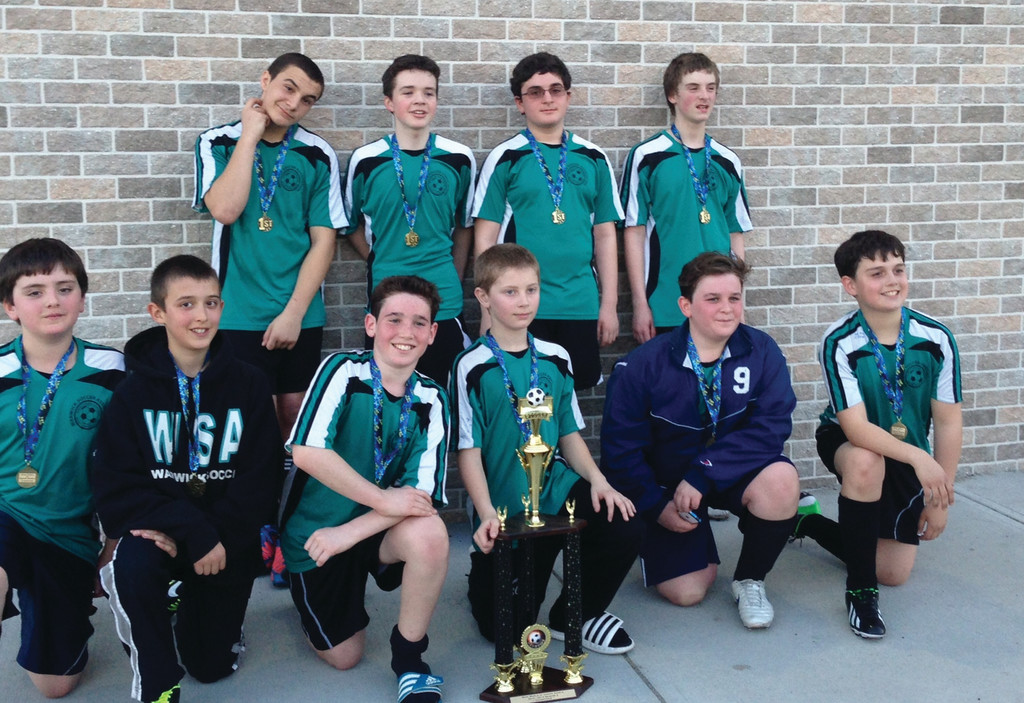 Pictured, front row: Will Pariseau, David D'Andrea, Levi Kase, Danny Lajoie, Jesse Kase and Kyle Hadfield. Back row: Travis Waleryszak, Carter Haid, Mikel Gjergji and Ethan Riordan.