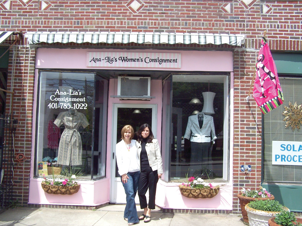 OUR DOORS ARE OPEN: As of this Saturday, Ana-Lia's Women's Consignments will be open for business from 10 a.m. to 5 p.m.
