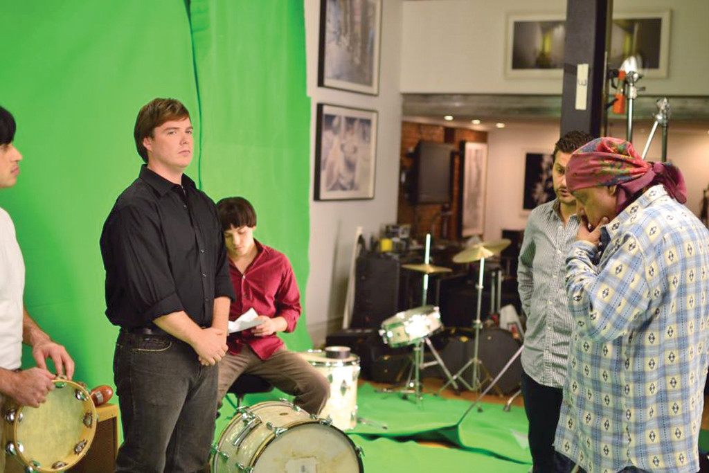 HE COULDN'T REFUSE: When Steve Van Zandt, who played a Mafioso on The Soprano's on HBO, asked Ryan to play the drummer Dinao Danelli in the Rascal show on Broadway, he couldn't refuse.