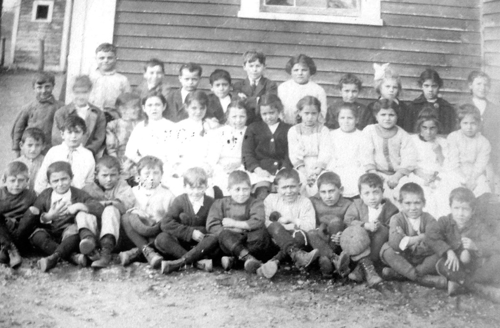 Mary Ruggieri's Second Grade Class, Knightsville, about 1913-1914.