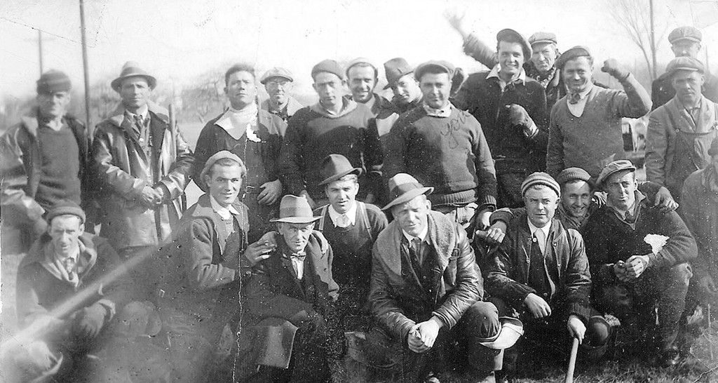WPA workers in Thornton, late 1930's.