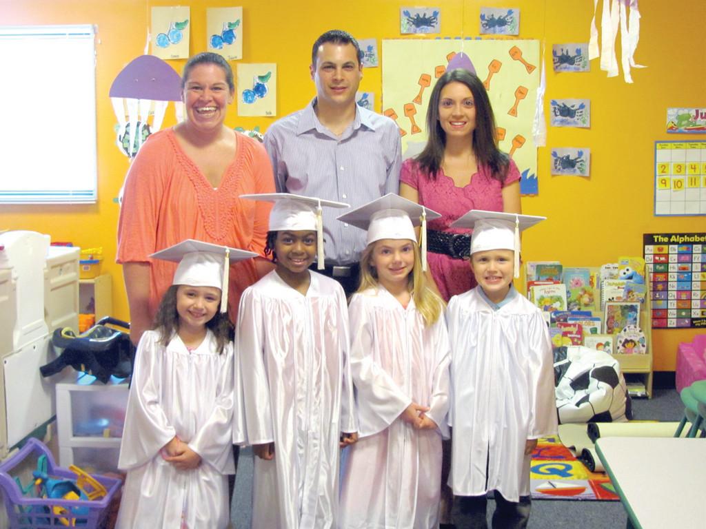Lollipop Learning Center hosts first graduation   Johnston Sun Rise