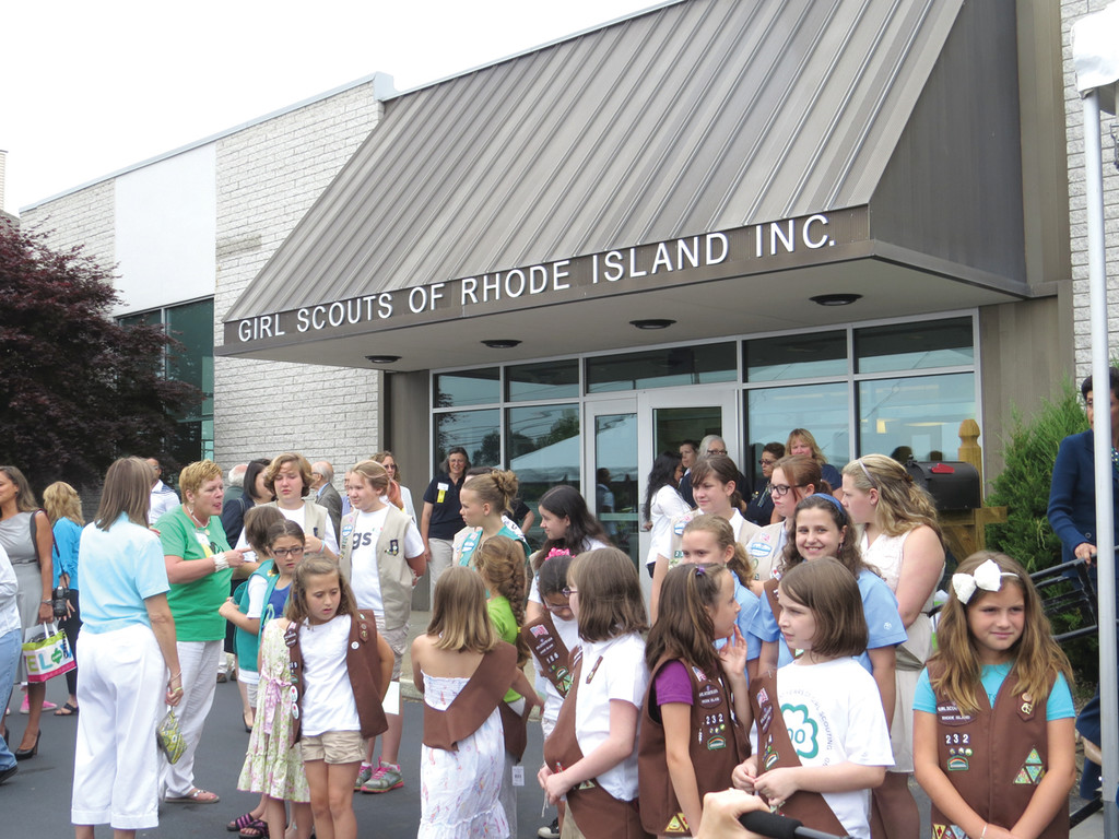 A NEW HOME: The new Girl Scouts of Rhode Island headquarters on Greenwich Avenue will be a place for girls to connect with role models and each other.