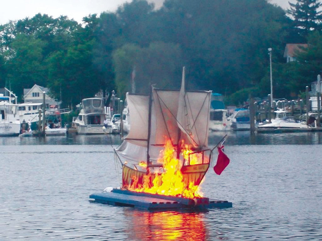 gaspee affair The most important and striking example of the influence of colonial newspapers in the wake of the gaspée affair  if burning the gaspee schooner was a matter of .