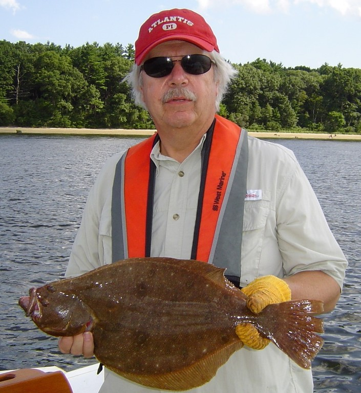 Fluke (summer flounder) fishing remains good off shore and in the lower Bay. Pete Sousa of Warwick caught two fluke under the Newport Bridge an hour before high tide and then the bite was off.