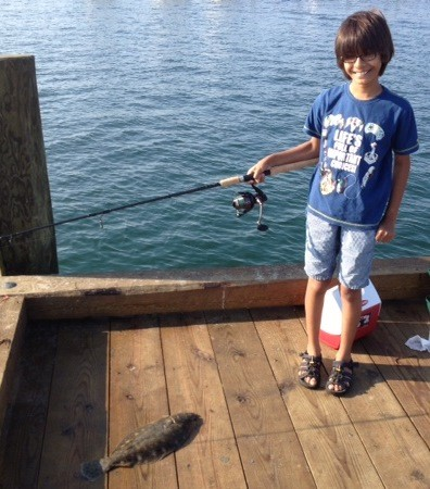 First fluke…