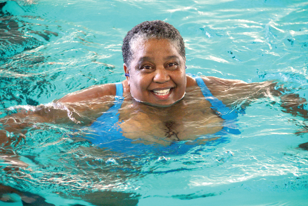 �INVITING� was one of the words Judy Venter-Gaines used to describe McDermott Pool. �It�s fresh, it�s new, it�s ours,� she said of the facility.