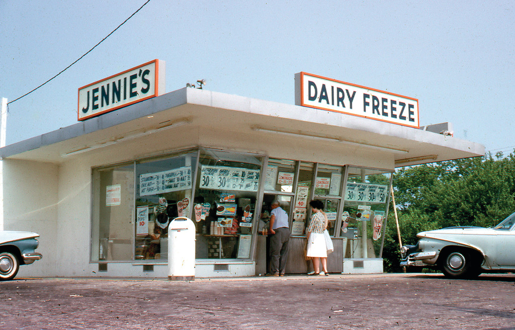 "REMEMBER WHEN? This photo of Jennie's Ice Cream got Mayor Scott Avedisian thinking maybe it would be fun to introduce a ""retro"" feature to the 2014 city calendar. Residents are being asked to submit photos from the '70s and earlier for the calendar."