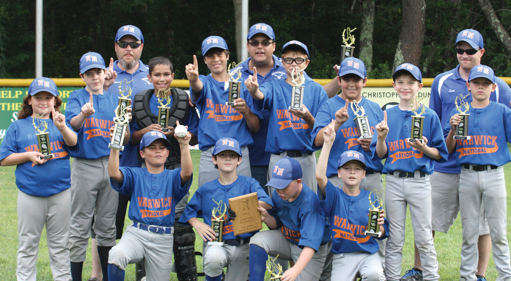 WARWICK NATIONAL 10/11-YEAR-OLD TEAM