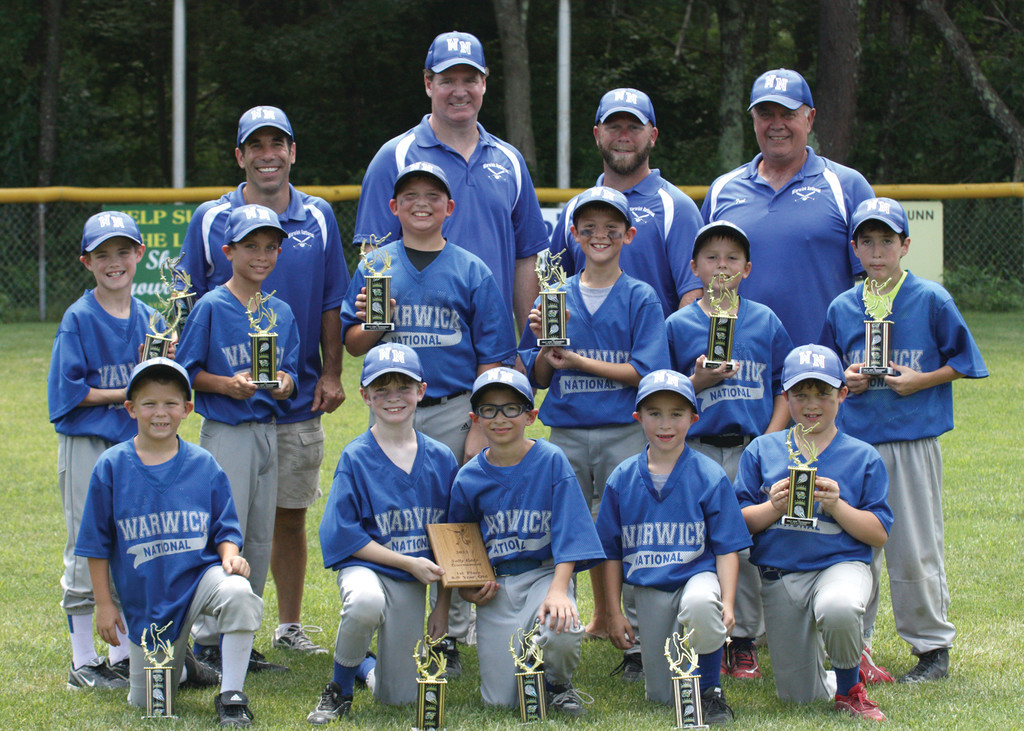 WARWICK NATIONAL 8/9-YEAR-OLD TEAM