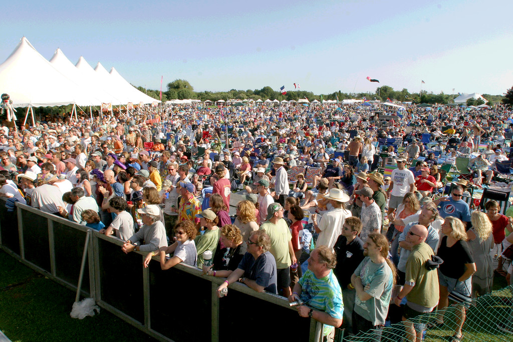 This crowd will be on hand again at this year�s Rhythm & Roots Festival at Charlestown�s Ninigret Park.