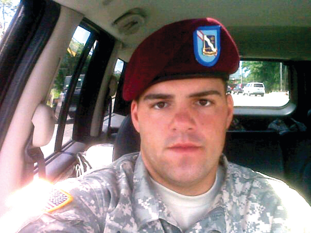 JUSTICE FOR JOEL: Specialist Joel Constantineau of the Army National Guard was hit and killed by a motorist on Main Avenue while riding his motorcycle to CCRI in May. His loved ones hope to see traffic improvements in the area of the accident.