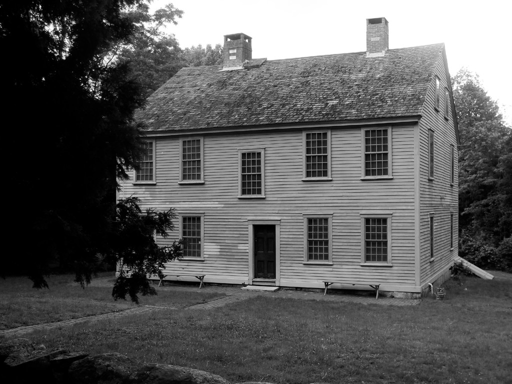 Jacob Greene lived in this 5 bay twin chimney house in Coventry. The house, built by Nathanael Greene in 1774, still stands and is open to tourists. Jacob made frequent trips from here to Apponaug and often to Bristol in all kinds of weather.