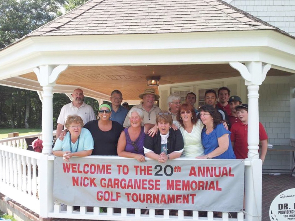 TEEING OFF: For 20 years, Dianne Stein (center) and a group of volunteers have raised nearly $400,000 through their local non-profit organization Dialysis Patients Association of Warwick. While this year marked their final charity golf tournament, Stein hopes people will still make donations to the cause.