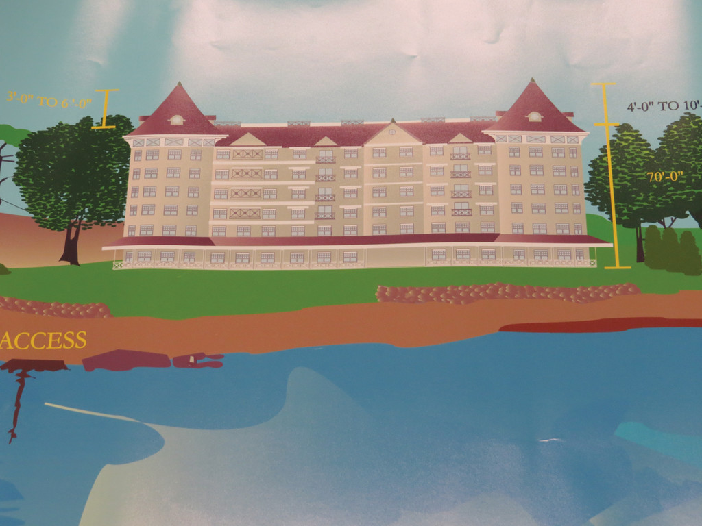 What the proposed Apponaug Hotel would look like.