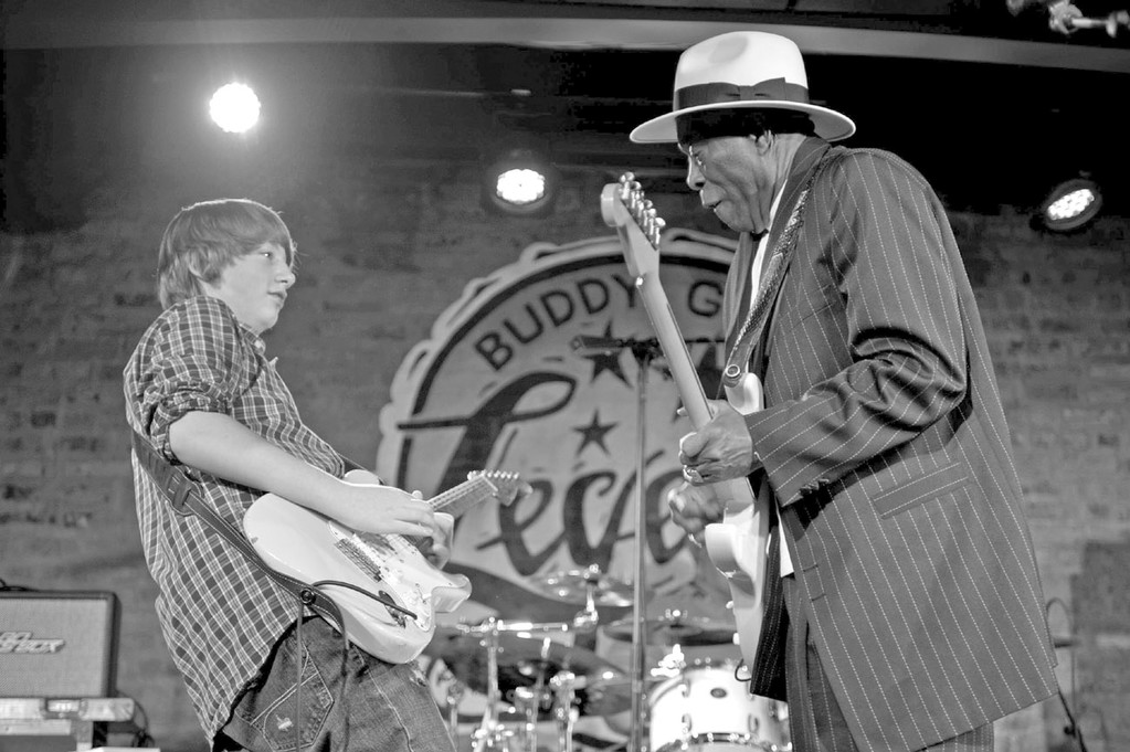 Quinn Sullivan and Buddy Guy