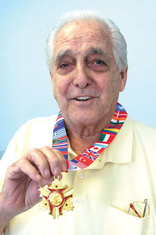 The South Korean people sent medals to all the veterans of the Korean War, like TOM PAGLIARINI, as part of the 60th anniversary celebration of the war's cease-fire in 1953. The war has never been concluded in the conventional sense, which complicates the relationship between North and South Korea to this day.