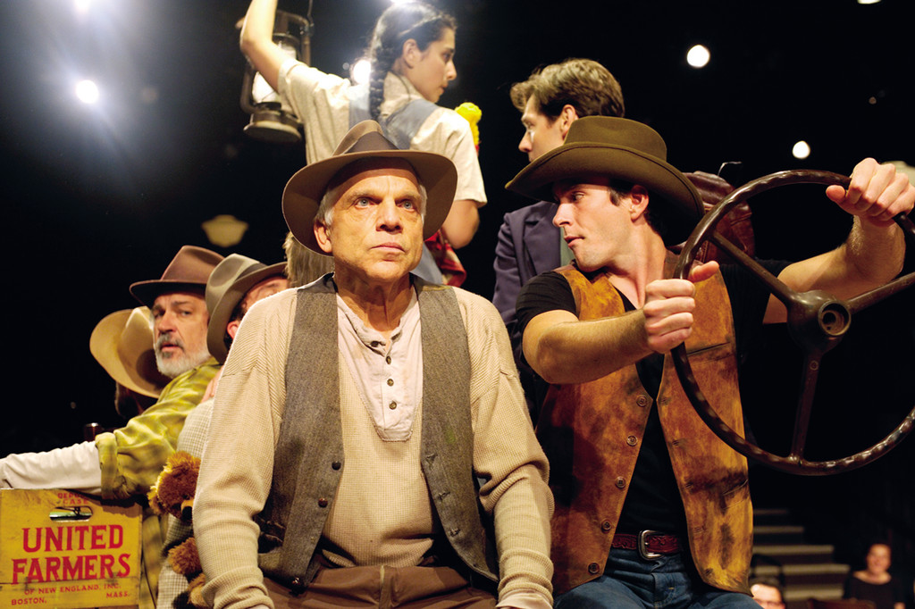 The cast of John Steinbeck's The Grapes of Wrath.