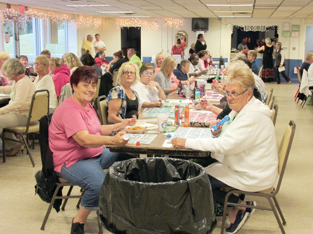 This scene will be commonplace tomorrow night, beginning at 6:30, when the Tri-City Elks Lodge No. 14 hosts its second Bingo night in three weeks.