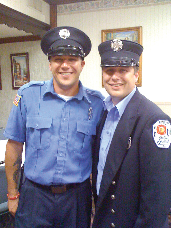 Sons follow dad's lead, become firefighters | Cranston Herald