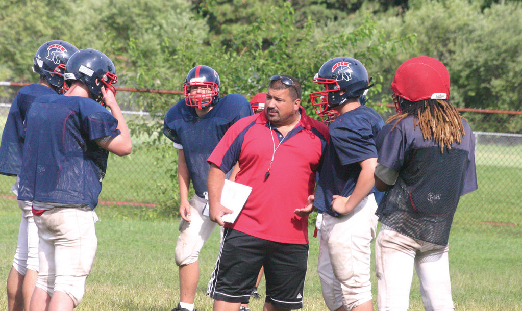 RETURN TRIP: Toll Gate football coach Matt Mancuso will bring the Titans to Johnston on Friday, the place where he spent six years and won a Super Bowl as an assistant coach.