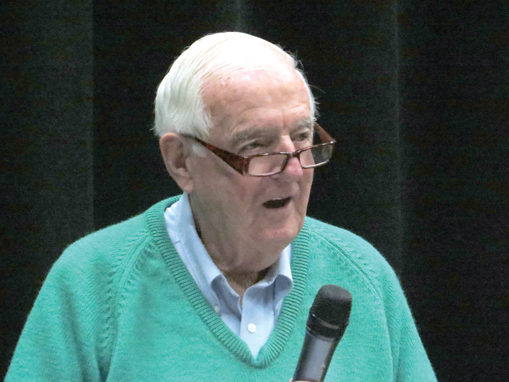 FORMER COACH, CURRENT SPECTATOR: Warwick's Dave Kenney, coach at Hendricken for 14 years in baseball, basketball, golf and soccer, including the team that won the school's first baseball state championship, and newly inducted Hall of Famer, still tries to attend as many Hawk baseball and basketball games as possible.