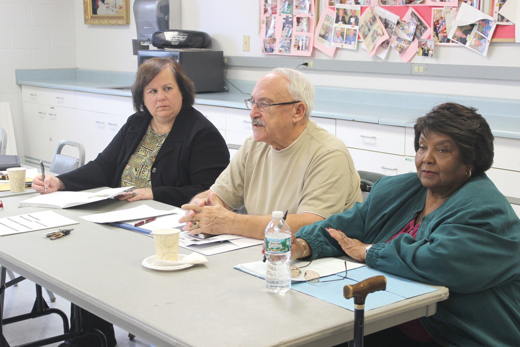 "IN THE KNOW: Ward 3 Councilwoman Camille Vella-Wilkinson (left), Charlie Dress and Verteal ""Vertie"" Patterson recently reinstated the Warwick American Association of Retired Persons Community Group, a resource for residents 50 and older."