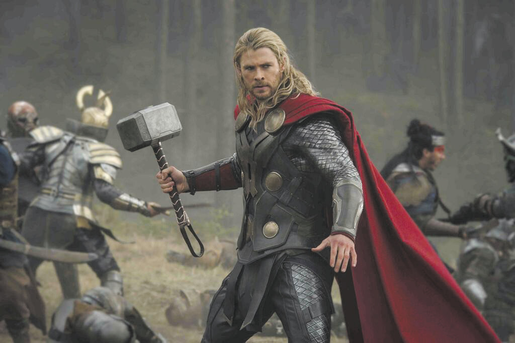 "Chris Hemsworth stars as Thor in Marvel Studios' ""Thor: The Dark World."""