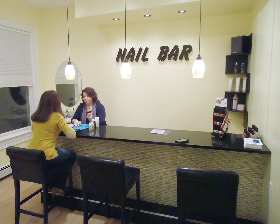 Dino salon spa celebrates reopening warwick beacon for 20 lounge nail salon