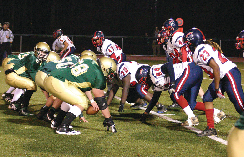ALL THEY'VE KNOWN: While the series has become one-sided, the tradition in the Toll Gate-Hendricken rivalry is strong. Neither school has had another Thanksgiving rival.