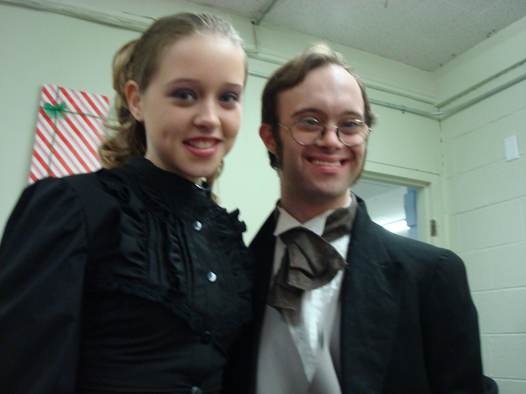 My first year as Young Man Scrooge 2011