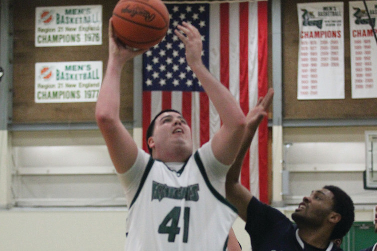 Pat Marchand is one of the leading returning scorers for the CCRI men's basketball team.