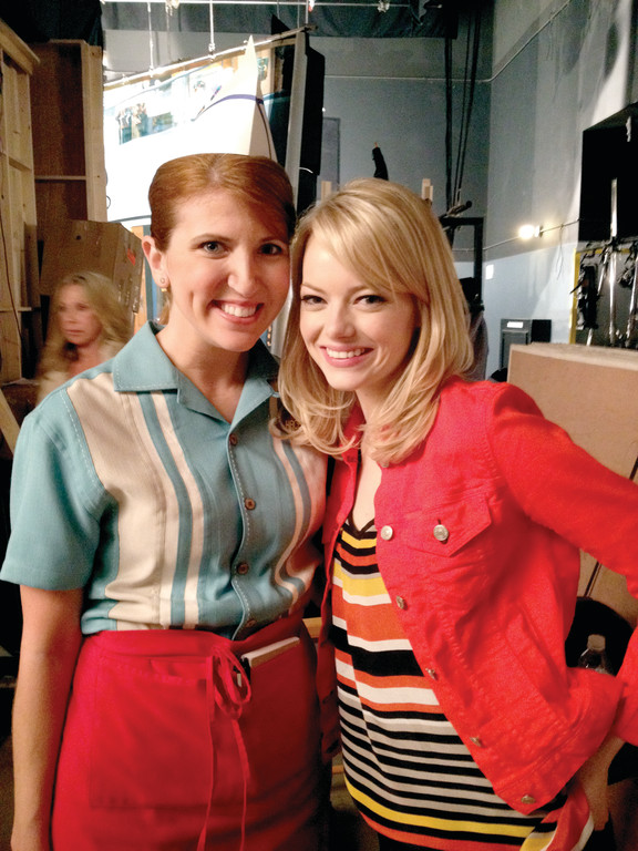 "Jessica Gardner met Emma Stone on the set of ""iCarly,"" the Nickelodeon series about a young woman with a blog. One guest appearance leads to another in the world of television sit-coms."