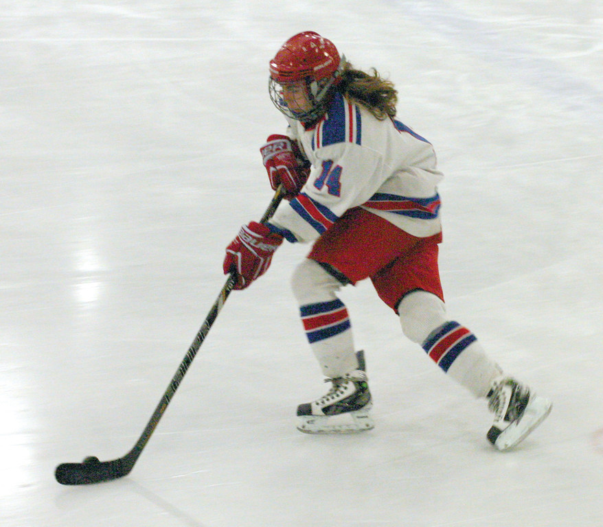 FAST START: Warwick's Madison Balutowski, pictured last year, notched a hat trick as Warwick knocked off La Salle on the season's opening weekend.