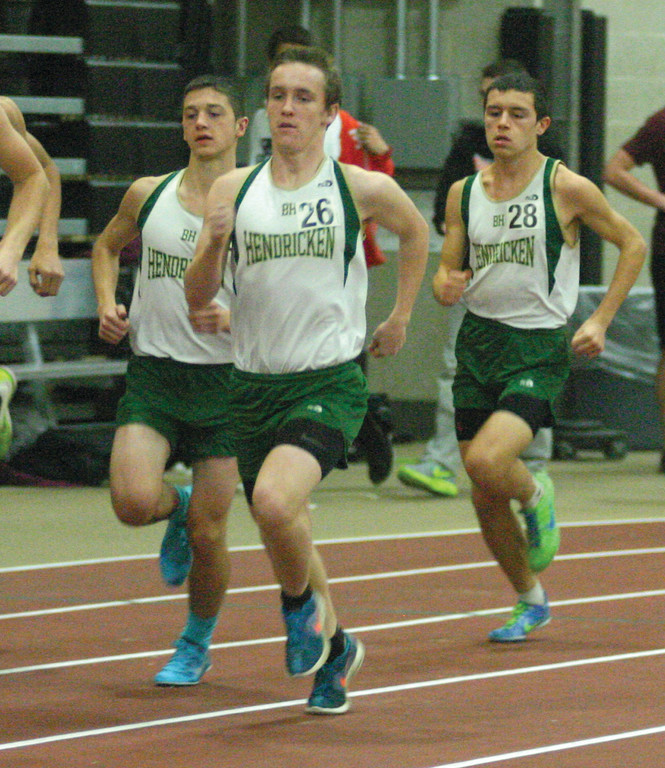 GOING THE DISTANCE: Collin Manning is part of a strong distance team for Bishop Hendricken this winter.